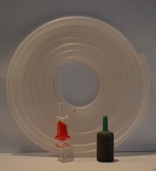 Air Pump Kit- 2m Silicone Airline, 1 Airstone, 1 Valve