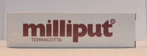 Milliput Terracotta Epoxy Putty 4oz