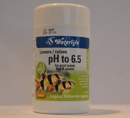 Waterlife pH to 6.5 buffer for acid water, fish & plants
